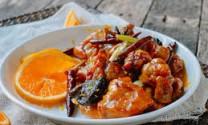 Thịt gà sốt cam
