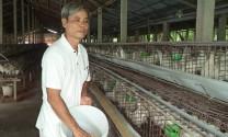 Ông Lê Văn Dũ: Làm giàu nhờ nuôi gà ri