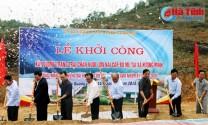 Hà Tĩnh: Vũ Quang khởi công xây dựng trang trại nuôi lợn nái quy mô 300 con