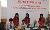 Vận động 100.000 hộ chăn nuôi cam kết không dùng chất cấm
