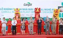 Cargill: Khánh thành nhà máy thức ăn chăn nuôi tại Nghệ An