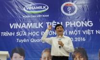 VINAMILK: TIÊN PHONG TRONG SỮA HỌC ĐƯỜNG