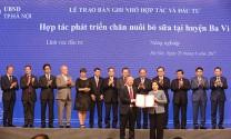 Vinamilk: Đầu tư 1.400 tỷ đồng nuôi bò sữa công nghệ cao tại Hà Nội