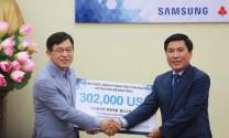 Samsung hỗ trợ 7 tỷ đồng cho người dân Thái Nguyên mua trâu