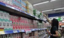 Nhập khẩu sữa từ Malaysia tăng mạnh