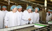 Chủ tịch Quốc hội thăm nhà máy sữa Vinamilk