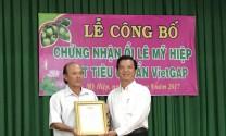 Cao Lãnh (Đồng Tháp): Công bố chứng nhận VietGAP Ổi Lê và Gà thả vườn