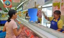 Hơn 250 tấn thịt heo sạch mỗi tháng được đưa ra thị trường