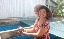 Thu nhập cao từ ếch Thái Lan