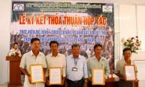 Vĩnh Long: Ký kết hợp tác sản xuất và tiêu thụ trứng vịt