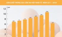 Thị trường trứng gia cầm: Thách thức không hề nhỏ