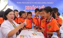 Qũy Sữa Vươn cao Việt Nam và Vinamilk trao 66.000 ly sữa cho trẻ em tỉnh Vĩnh Phúc nhân dịp Tết Trung Thu