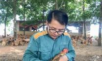 Quảng Trị: Chủ tịch Hội Nông dân xã Vĩnh Chấp với thương hiệu gà đồi
