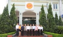 VIPA thăm và làm việc với Công ty Cổ phần Chăn nuôi C.P. Việt Nam