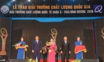 Thức ăn gia súc Lái Thiêu: Vinh dự đón nhận Giải thưởng  Chất lượng Quốc gia 2018